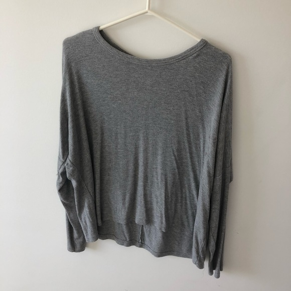 Brandy Melville Long Sleeve T-shirt Ribbed
